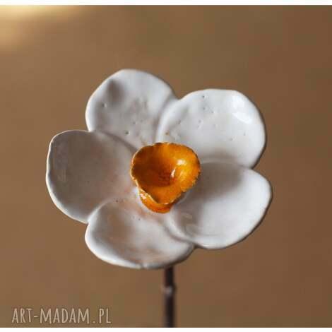 narcyz, kwiat, ceramika dom