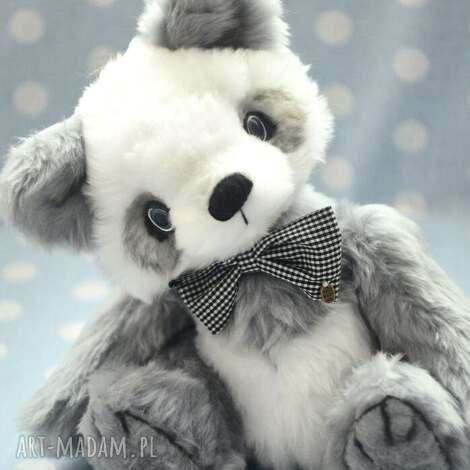 hand made, miś panda- odo, szyty ręcznie, 30cm, przytul misie - miś, zabawka