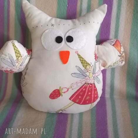 przytulanka sowa bajkowa, sowa, sówka, zabawka, prezent, ptak, maskotka