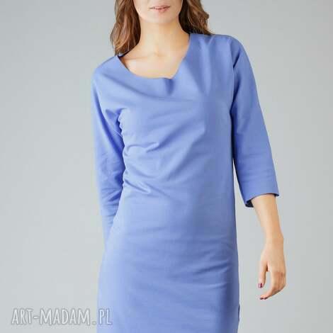 sukienki sukienka kami 5, swobodna, wygodna, modna, midi, surowa ubrania