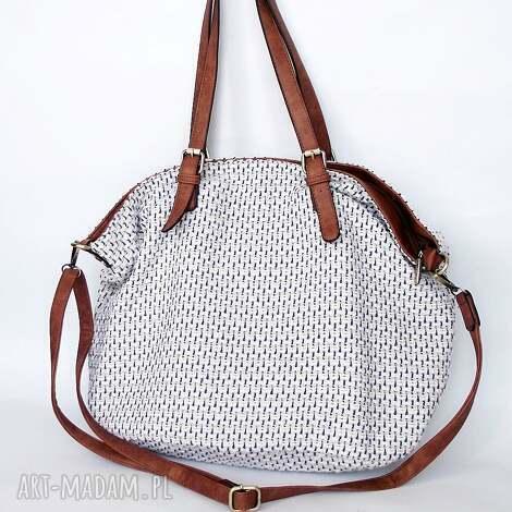 xxl torba na ramię z czernią, torba, worek, torebka torebki