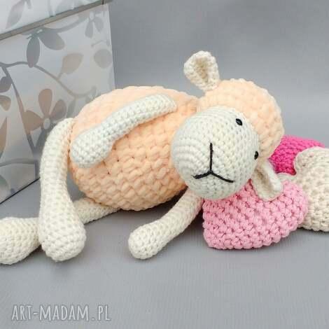 maskotki owieczka matylda, owca, miękka, dziecko, prezent, przytulanka, maskotka dla
