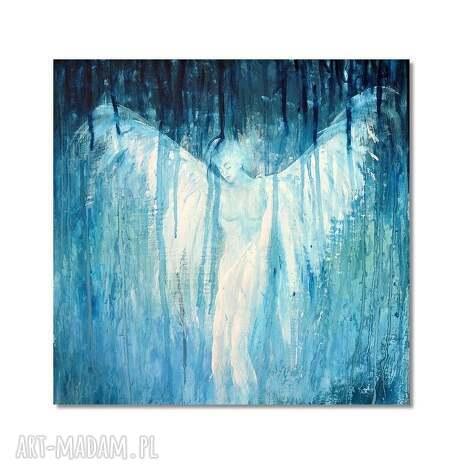 obrazy anioł asariel, obraz ręcznie malowany, obraz, anioł, do, salonu