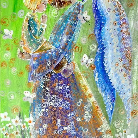 dziecięca modlitwa, anioł, anioły, aniołek, dziecko, 4mara, święta prezent