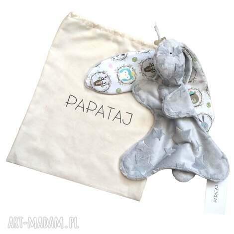 święta prezenty, przytulanka króliczek, pluszak, maskotka, przytulanka, niemowle dla