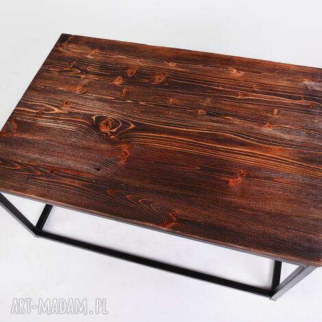 stolik okapi - drewno z upcyclingu,minimalistyczny, designerski, do loftu