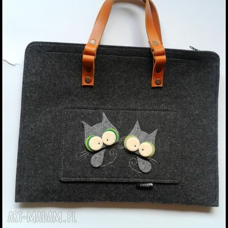 teczki teczka z kotkami, catoo, prezent, teczka, torebka, kotki, kot torebki, pod