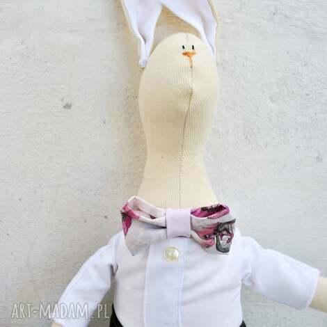 pan królik, zabawka, maskotka, dla, dziecka, prezent, pod choinkę