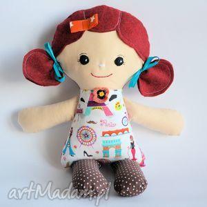 lalki cukierkowa lala - matylda 40 cm, lalka, cukierek, paryż, szmacinka, roczek