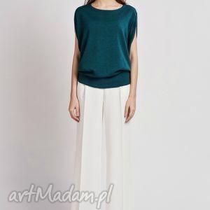 bluzka, blu102 zielony, top, kimono, oversize, zamek ubrania, prezenty na