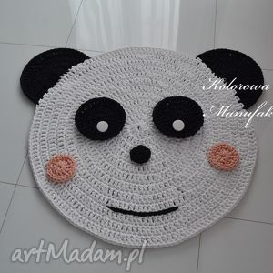 dywan miś panda - 100 cm , panda, miś, dywan, chodnik pokoik dziecka dla dziecka