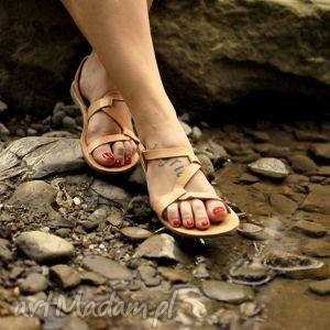 Sandały Wężyki, ludowe, folk, skórzane, sandałki, sandały, owijaki