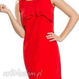 sukienki sukienka wizytowa w kolorze czerwieni rozmiar 46, wieczorowa, studniówkowa