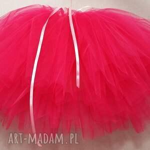 spodnica tutu z tiulu mocny róż, tutu, spódniczka, tiul, baletnica, księżniczka, dama