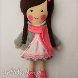 Prezent malowana lala wiki z szalikiem, lalka, zabawka, przytulanka, prezent
