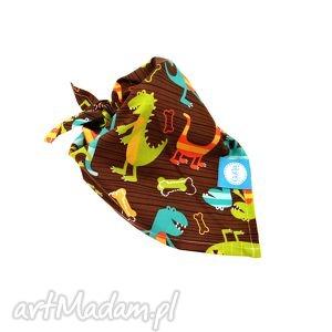 chustka na głowę apaszka, dino, dinozaury dla dziecka