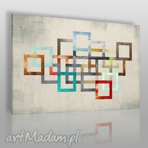 obraz na płótnie - łańcuch kolory 120x80 cm 26501 , łańcuch, kolory, abstrakcja