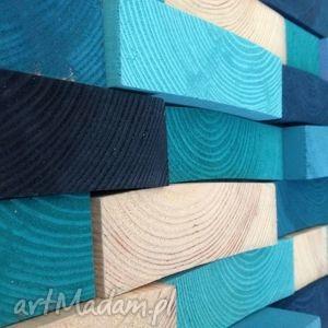 drewniany obraz na zamówienie, mozaika, drewno, ściana, obraz, dekoracja, ozdoba