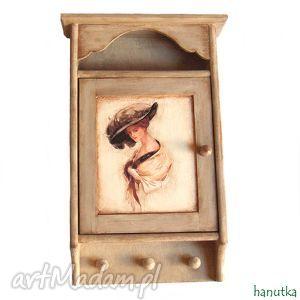 pod choinkę prezent, retro - szafka na klucze, retro, szafka, stylowe, drewno