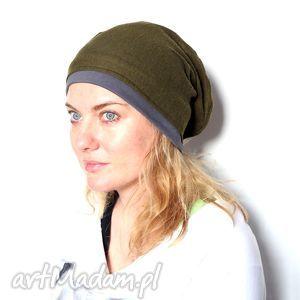 czapka damska wrócił na tarczy a teraz słabszego warczy, czapka, damska, wełniana