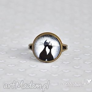 Pierścionek dla Kociary, pierścionek, kot, koty, kotki