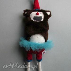 dekoracje miś grizzly michael w tutu, miś, stworek, zwierzak, prezent