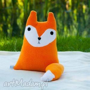 poduszka lis lisek - poduszka, przytualnka, handmade, rękodzieło, zabawka