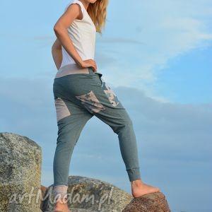 Spodnie Gwiazdy damskie - baggy pants, yoga, ciążowe, wygodne, oryginalne, dres