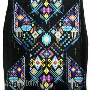 gaul designs spódnica ołówkowa, spódnica, wzór ubrania