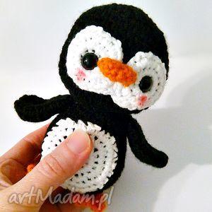 Pingwinek Pim Pom - ,pingwinek,pingwin,maskotka,przytulanki,