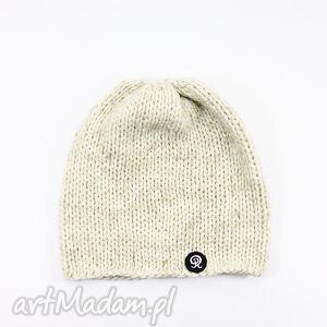 ręcznie dziergana czapka unisex, czapka, zima, dziergana, handmade, głowa