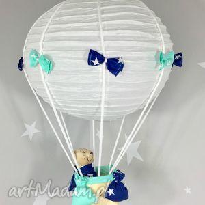 Lampa LaMaDo Latający Miś Polski Handmade , lampa, latający, miś, balon, wisząca