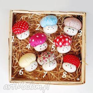 grzybki - bombki na choinkę, grzybek, grzyb, bombka, choinka, święta, dekoracja dom