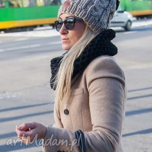 business instinct wielbłąd, jesień, zima, czapka, włóczka, handmade