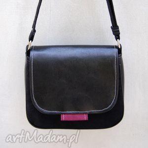 bambi - mała torebka czerń i bordo, mała, wygodna, praktyczna, wyjątkowa, prezent