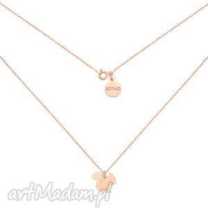 naszyjnik z wiewiórką różowego złota, naszyjnik, wiewiórka, rozowe, zloto