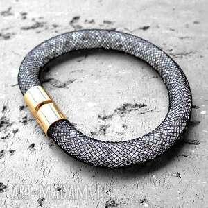 final sale shimmer- lśniąca bransoletka stardust, złota, biała