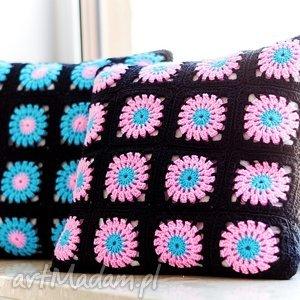 Zestaw 2 poduszek dekoracyjnych , poduszka, poduszki, zesstaw, poszewka, szydełko