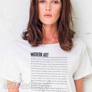 MODERN ART Oversize T-shirt, oversize