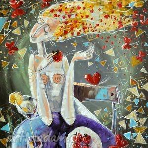 Prezent Myśli kobiety, prezent, obraz, 4mara, czajkowska, miłość, kobieta