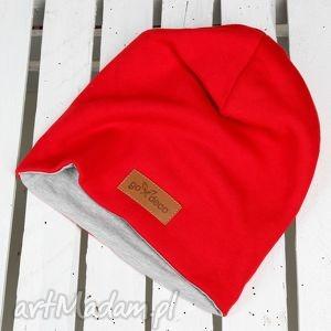 czerwona czapka , czapka, beanie, czerwona, ciepła, bawełna, prezent