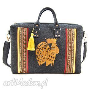 na laptopa torba 132, ludowa, haftowana, etniczna torebki, unikalny prezent