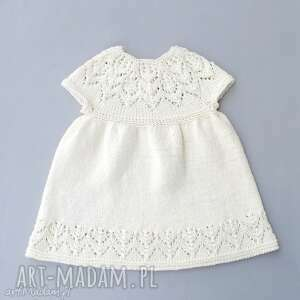 Prezent Sukienka Valentina, sukienka, dziewczynka, niemowlę, uroczystość, chrzest