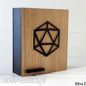 szafka na klucze geometric - skrzynka wenge, klucze, skrzynka, szafka, geometic