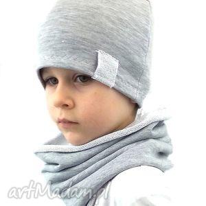 komplet dla chłopca, komplet, chłopiec, komin, czapka, czapki, kominy, świąteczny
