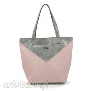 ręczne wykonanie na ramię torba worek triangle 1