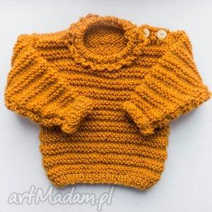 sweterek dziewczęcy honey 0-18 m, sweter, dziewczęcy, niemowlęcy, wełniany dla