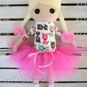 fabryqaprzytulanek szmacianka, szmaciana lalka w tutu, lalka