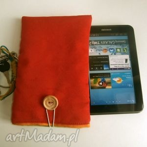 czerwone etui tablet 7, galaxy tab2 tablet, cali, etui, galaxy, tab2