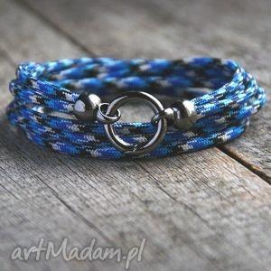 LUX. męska bransoletka :: hello sailor, marynarska, lina, linka